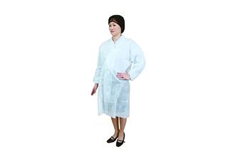 ラップイン ディスポ白衣&ジッパー付白衣