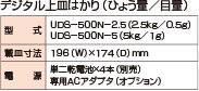 デジタル上皿UDS-500N